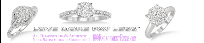 999EngagementRings.com Love More Pay Less™